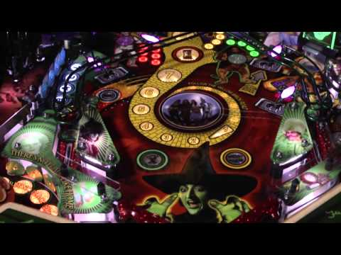 Jersey Jack Pinball, Inc - The Wizard of Oz Pinball Machine