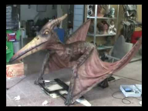 Animatronic Pteranodon by IMA Video