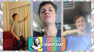 ANSEL ELGORT Dancing Nae Nae Snapchat Story | feat. Ansolo Music in Texas