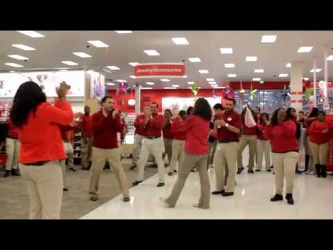 Target Store Pre Opening Party Cupid Shuffle Music By Dj Takeova video