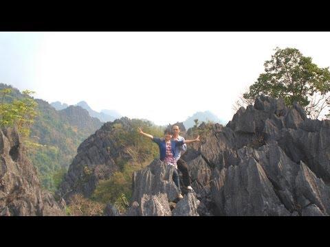 Travel - P22, 2012-13 Adventure Beautiful Laos, Ncig Ua Si saib tebchaws. (HD)