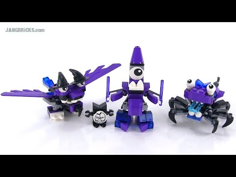 LEGO Mixels Series 3 Wiztastics reviews! Mesmo. Magnifo. Wiswuz!