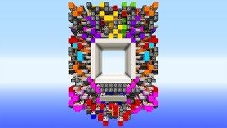 Die KRASSESTE 8x8 Redstone Piston Tür! Minecraft Redstone Piston Door!