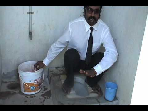 How to use Eastern Latrine: Wilbur Sargunaraj