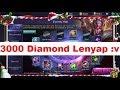 Habis 3000++ Diamond!! Spin Skin Epic Freya?? - Mobile Legends