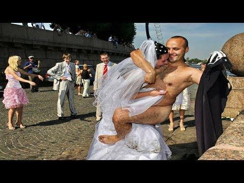 Девушки видео приколы свадьбы