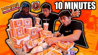 Ordering The ENTIRE POPEYES MENU ... 2 TIMES!!!