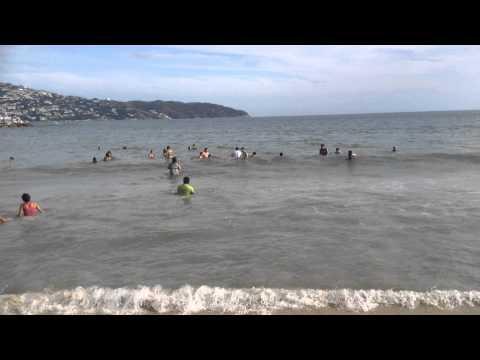 Vacaciones en Acapulco beach