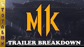 Mortal Kombat 11 - Trailer Analysis and Breakdown!