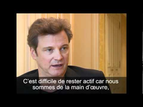 Colin Firth, interview - Télérama (2010)