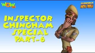 Inspector Chingam Special - Motu Patlu Compilation Part 6 - 45 Minutes of Fun!