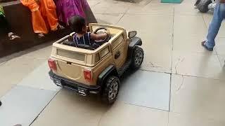 One year baby driving a car (ashiriya)