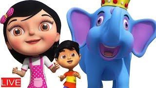 🔴 Kids Channel India - लोकप्रिय बच्चों के गाने | Nursery Rhymes For Kids