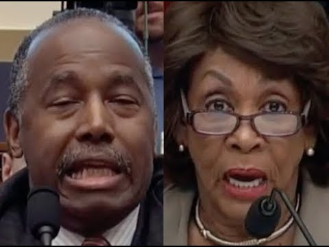 """PUERTO RICO SHOULD BE ABANDONED??!!"" Maxine Waters DESTROYS Ben Carson on Trump & Puerto Rico"