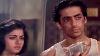Bheege Hue Note! - Salman Khan, Alok Nath & Bhagyashree - Maine Pyar Kiya