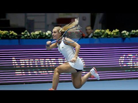 2016 St. Petersburg Ladies Trophy Second Round | Dominika Cibulkova vs Wozniacki | WTA Highlights
