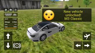 Flying Car Transport Simulator | New BMW And Ford Mustang Gameplay | New Flying Car Game Android