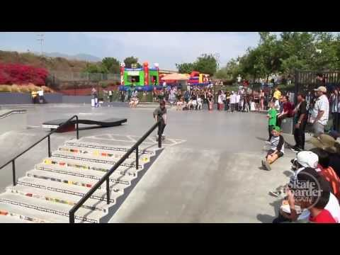 Skateboarder Magazine: Ryan Sheckler's Skate For A Cause 2013