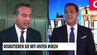 Kern vs. Strache - das große TV-Duell