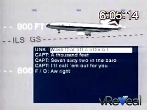 Delta Airlines Flight 191 Crash Animation