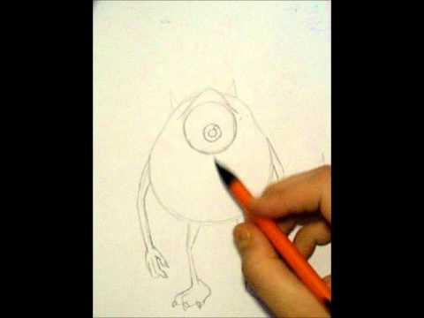 Mike Wazowski And Sully Drawing Drawing Mike Wazowski