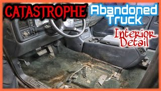 CATASTROPHE EXTRACTION DETAIL〡 FILTHY ABANDONED TRUCK TRANSFORMATION DETAIL