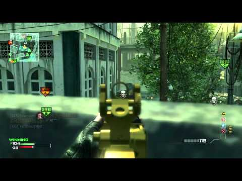 MW3: ACR MOAB + 37 Gunstreak - When to Get Hardline (Modern Warfare 3 Gameplay/Commentary)