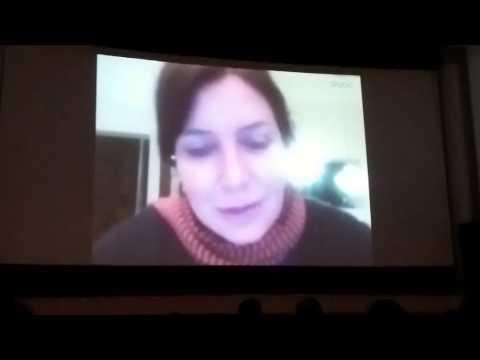 collegamento via Skype con Sabina Guzzanti