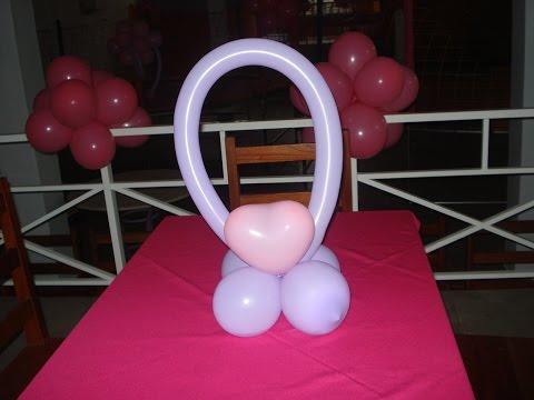 Curso Montagem e Decoração de Festas Infantis - Cluster de Balões