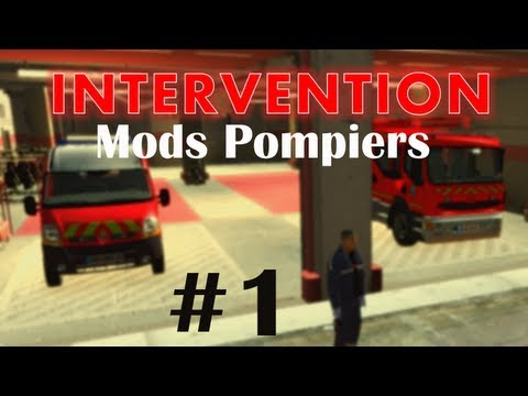 GTA IV Mods French : INTERVENTION #1 | MODS POMPIERS