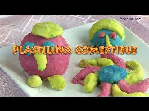 *Plastilina comestible | facilisimo.com