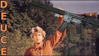 Black Powder AR-15!