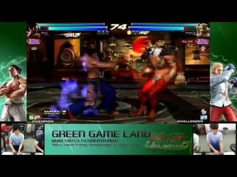 Tekken Tag 2 Unlimited Qudans (Devil Jin/Kazuya) vs Triple H (King/A. King)