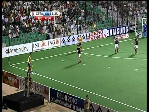 2010 Field Hockey World Cup Final - Kookaburras Winning Gold