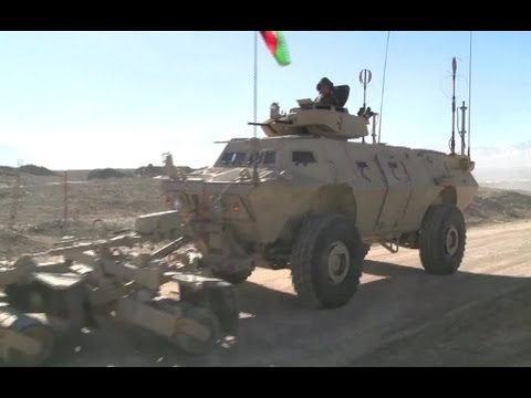 Afghan National Army's Armored Security Vehicles (ASV) in Action | AiirSource