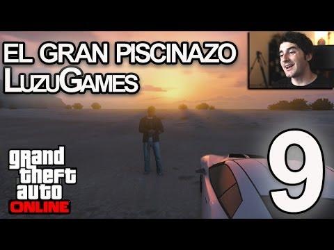 PISCINAZO LEGENDARIO! GTA V ONLINE - [LuzuGames]