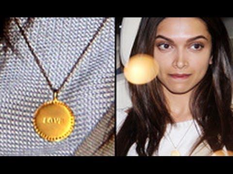 Ranveer Singh gifts a 'love' pendant to girlfriend Deepika Padukone?   Hot Latest News   Dating