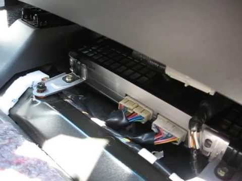 remove amplifier   lexus gx  repair