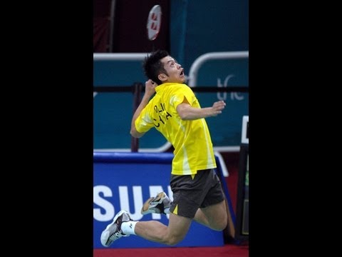 Best of Badminton Jump Smashes 1 - Young Lin Dan