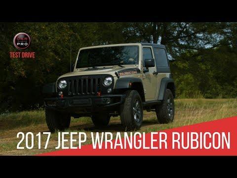 2017 Jeep Wrangler Rubicon Recon Test Drive