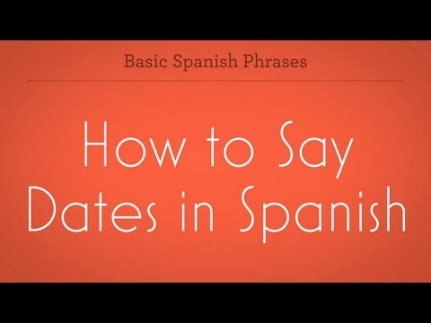 How Do You Say Online Dating In Spanish