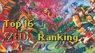 Mein persönliches ZELDA Ranking - Top 16 Liste