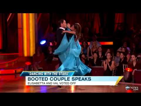 'Dancing With the Stars': Elisabetta Canalis Out; Nancy Grace 'Wardrobe Malfunction' Gets Buzz