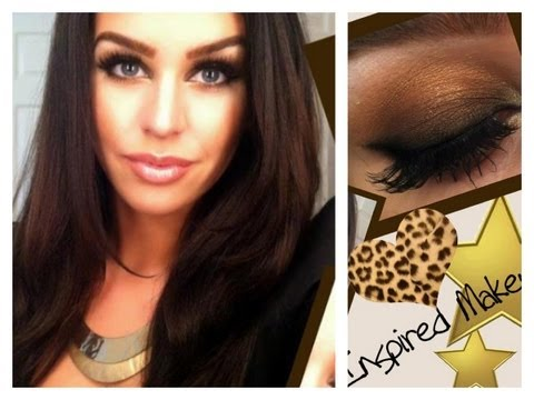 Kim Kardashian Smokey Eye Makeup