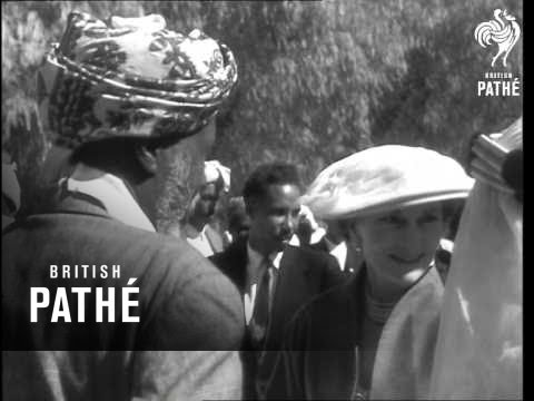 Duke And Duchess Of Gloucester Visit Ethiopia Roll 2 (1958)