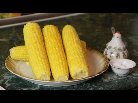 Как сварить кукурузу - видео