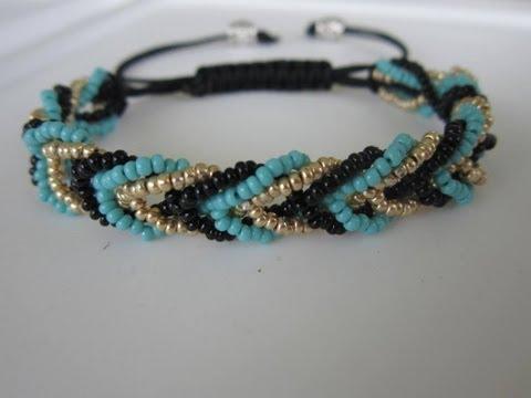 TurboBeads Helicoid Bead Bracelet Tutorial