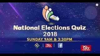 Promo - National Elections Quiz 2018 | Episode - 02 | Sunday 9 am & 3.30 pm