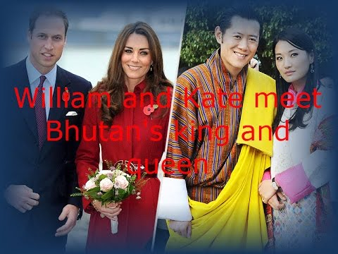 The royal meeting: Britain's William and Kate meet Bhutan's king and queen | Latest News World