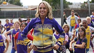 World-Famous Laker Girls put on dance clinic at South Bay Lakers' Adopt-a-School